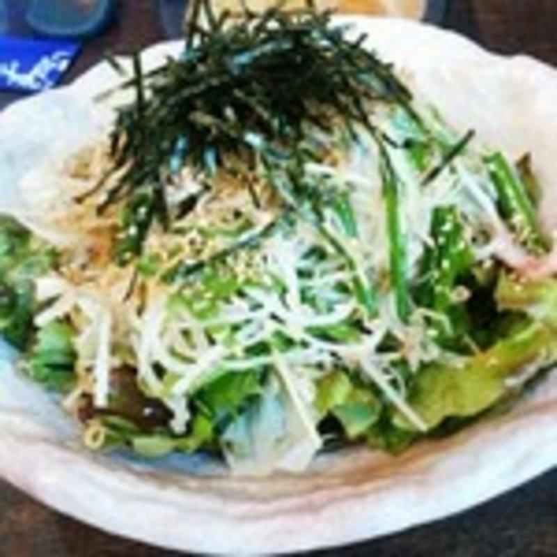 ジャコの大根和風サラダ