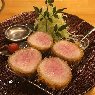 三元豚ヘレカツシャトーブリアン(epais SATSUKIGAOKAKITA)
