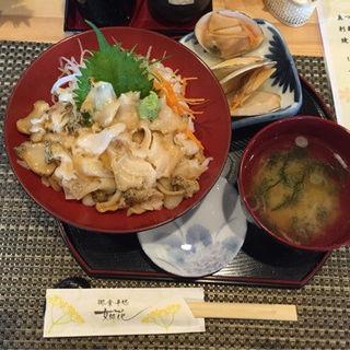 つぶ丼(女郎花)