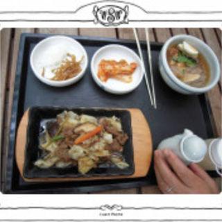 プルコギと冷麺セット(妻家房)