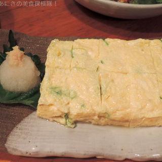 だしまき(季節野菜 炭焼料理 花房 )