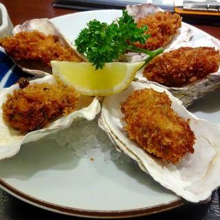 かきフライ定食(安芸路 酔心 新宿店 (すいしん))