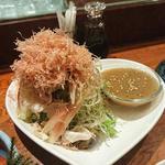 茗荷と夏野菜 豚しゃぶのサラダ