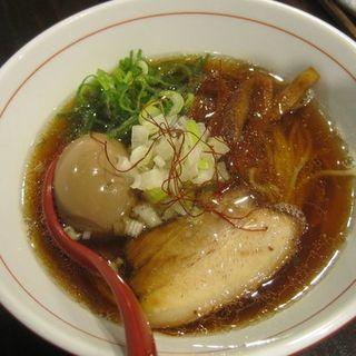 味玉醤油そば(密くろ )