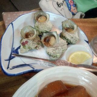 栄螺の壺焼き(富田屋 )