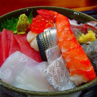 海鮮丼定食(寿し正)