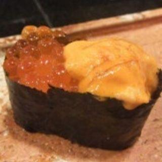 ウニ&イクラ(寿司割烹 濤崎)