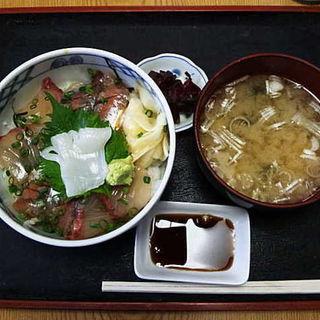 カンパチ・アジづけ丼(寿司吉 )