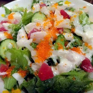 海鮮サラダ(寿司居酒屋やまちゃん)