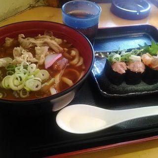 本日のお得うどん(肉カレーうどん)(寿司菜籠 ぎょえん)