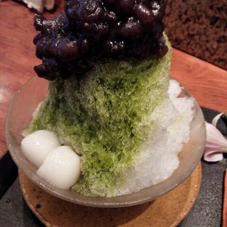 かき氷(抹茶)(寿月堂 )