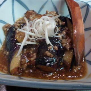ナスの味噌炒め(小半 (こなから))