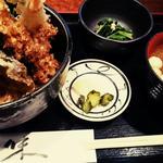 天丼ランチ(居酒屋 たけ政)