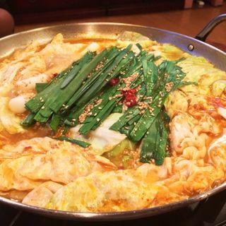モツ鍋(居酒屋かくれ・や )