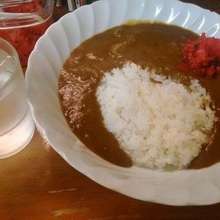 牛すじ煮込みカレー(居酒屋ぎょっちゃん)