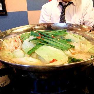 もつ鍋(居酒屋じゅうじゅうぅ )