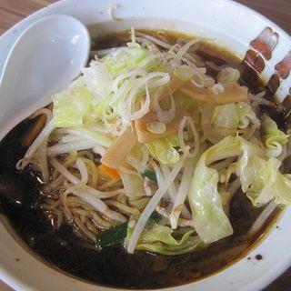 満天ラーメン黒醤油(屋台亭 満天 )