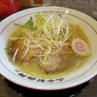 鶏豚白湯らーめん(山なか製麺所 )