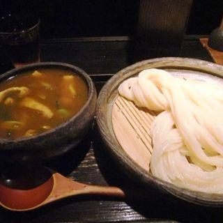 カレーつけ麺(山元麺蔵 (やまもとめんぞう))