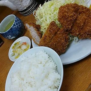 ひれかつ定食(山家 御徒町店)