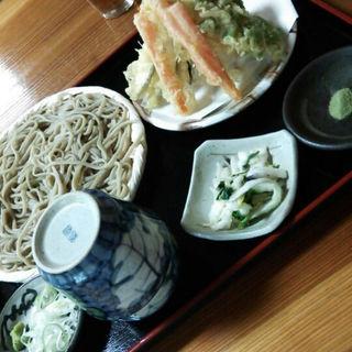 野菜天ざる(山居 )