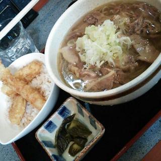 肉そば&天丼(山形一寸亭 (やまがたちょっとてい))