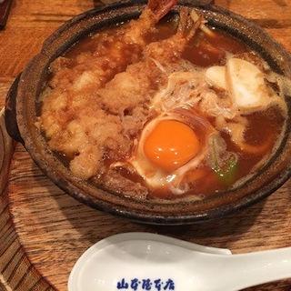 天ぷら入り味噌煮込みうどん(山本屋本店 名古屋駅前店 (やまもとやほんてん))