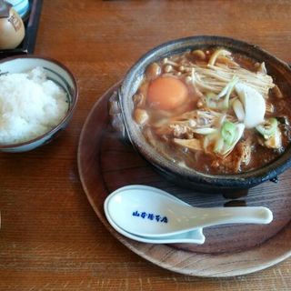 4種のキノコ入り味噌煮込みうどん(山本屋本店 栄本町通店 (やまもとやほんてん))