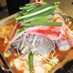 韓国風すき焼き 赤ちり鍋