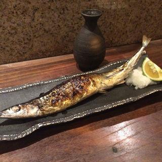 サンマ塩焼き(山海倶楽部 淀屋橋店 (さんかいくらぶ))