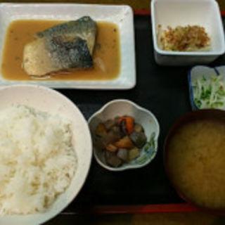 さば味噌煮定食(島田屋 川崎)
