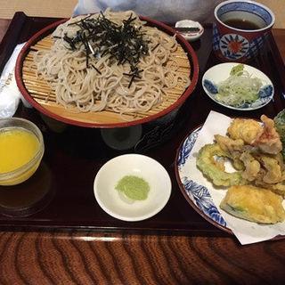 天ザル(川根路茶寮ひらら )