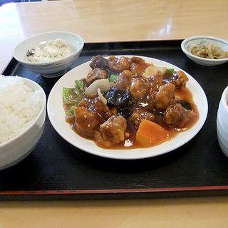 酢豚定食(巧福 )