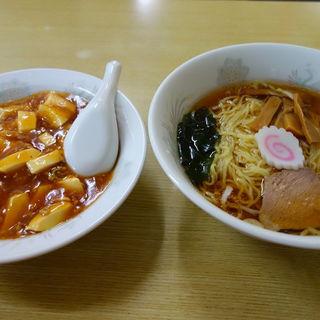ラーメン+ミニマーボー丼(幸楽 )