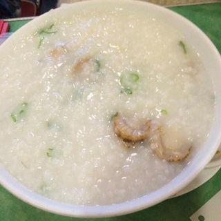 ホタテ貝のお粥(幸福粥店 (Happy Congee))