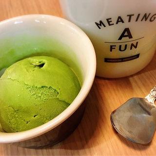 抹茶のアイス(広尾 七代目松五郎 )