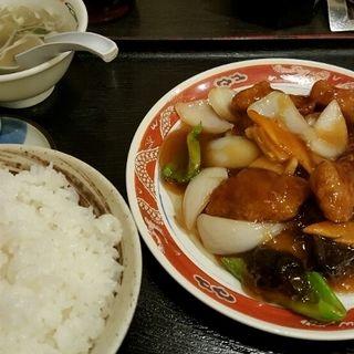 酢豚定食(御舟 (【旧店名】御舟支店))