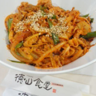 豚キムチ丼(徳山食堂)