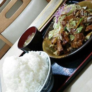 豚肉の味噌炒め(徳次郎食堂 岩瀬店 )
