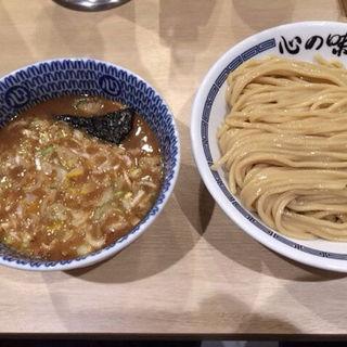 味玉濃厚豚骨魚介つけ麺(心の味製麺 平井店 )