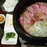 牛鍋焼定食
