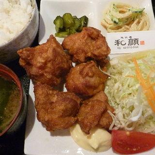 若鶏の唐揚げ定食 (恵比寿和顔 )