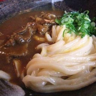 カレー釜玉(情熱うどん讃州 新大阪店 )