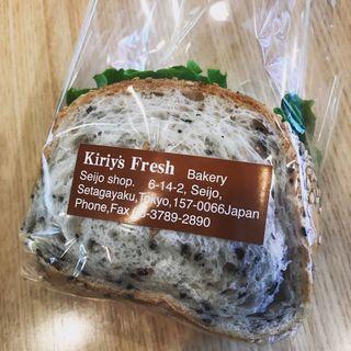 フレッシュサンドイッチ(シーフードクリーミーコロッケ)(Kiriy's Fresh 成城店 (キリーズ フレッシュ キリ フレッシュ))