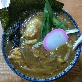 ラン卵カレーうどん(我流 )