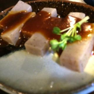味噌田楽(手打そば かみやま )