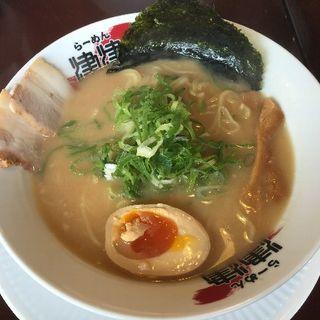 鶏ガラ醤油の津津ラーメン(拉麺 秦秦 美浜店)