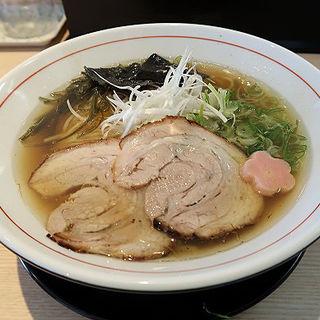 旨味醤油ラーメン(拉麺開花)