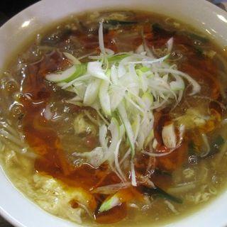 梅酸辣湯麺(拉麺勇気 )