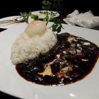 半熟卵の文明堂ハヤシライス(文明堂カフェ (BUNMEIDO CAFE))